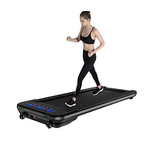 SISHUINIANHUA Schwarz elektrische Fernbedienung laufband Mini elektrische lauftraining Fitness laufband Hause Sport stumm fitnessgeräte