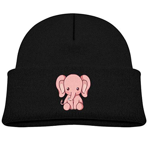Voxpkrs Kawaii Elephant Baby Infant Toddler Winter Warm Beanies Hat Cute Kids Thick Stretchy Cap Cool 32715