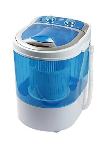 DMR MiniWash 3 kg Portable Mini Washing Machine with Dryer Basket (Blue)