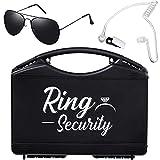 Best Wedding Rings - Wedding Ring Box Security Earpiece Earplugs Headset Review