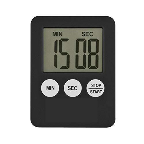 Nihlsfen Temporizador electrónico de Cocina Digital LED, recordatorio de medicación de Cuenta atrás, Temporizador de Cocina, Temporizador de gatillo de Cocina en casa