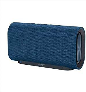 Speaker Bluetooth from Aukey for all devices blue