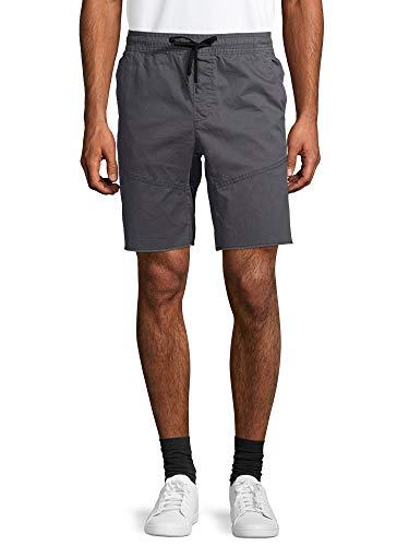 No Boundaries Charcoal Sky Woven Stretch Jogger Shorts - 2XL