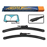 AERO Avenger 28'+28' I&L Pinch Tab Premium All-Season Beam Windshield Wiper...