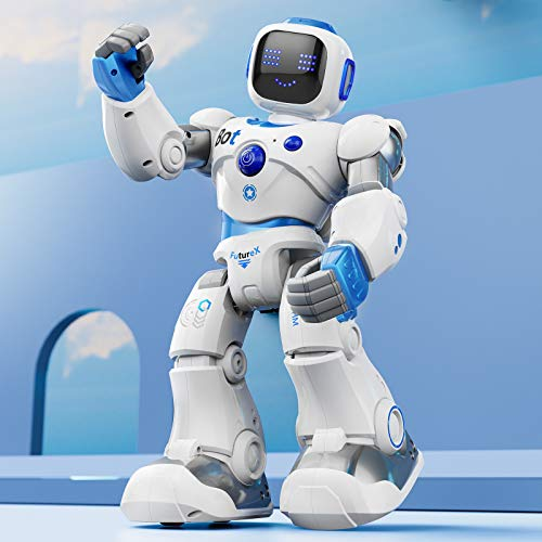 Ruko Smart Robots for Kids, Large Programmable Interactive RC Robot with Voice Control, APP Control, Present for 4 5 6 7 8 9 Years Old Kids Boys and Girls