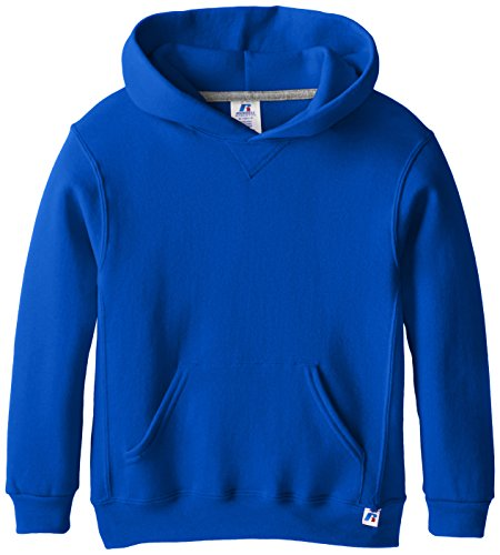 Russell Athletic Athletic Big Boys' Fleece Crew, Hoodie-royal, L