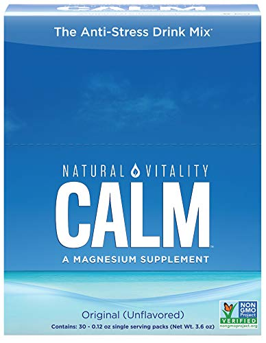 Natural Vitality Calm, The Anti-Stress Dietary Supplement Powder, Original