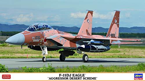 ハセガワ 1/72 航空自衛隊 F-15DJ イーグル アグレッサー デザートスキーム プラモデル 02354