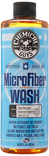 Chemical Guys CWS_201_16 Microfiber Wash Cleaning Detergent Concentrate (16 oz),orange