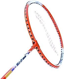 LI-NING XP Series Badminton Racket 2018 Professional Beginner Practice Racquet Pack of 2 (Orange/White-XP 709)