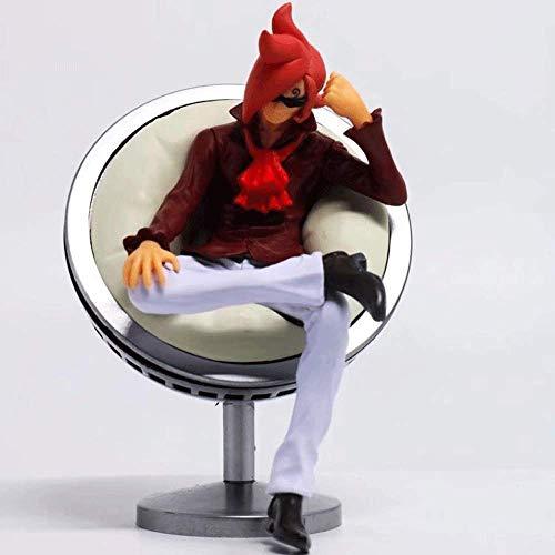 QHYZRV One Piece Die Vinsmoke Familie Lei Jiu Yuji Nichi Sanji Sofa Sitzhaltung Premium Edition Souvenir Boxed Figur Dekoration Modell Skulptur