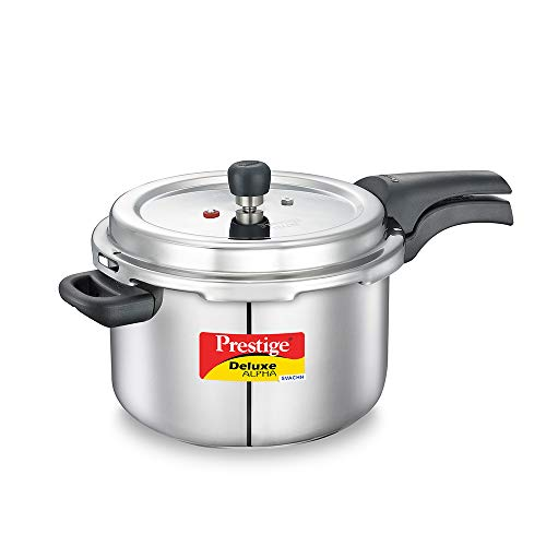 Prestige Svachh Deluxe Alpha 6.5 Litre Stainless Steel Pressure Cooker