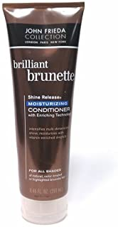 John Frieda Collection Brilliant Brunette Shine Release Moisturizing Conditioner with Enriching Technology for All Shades ...