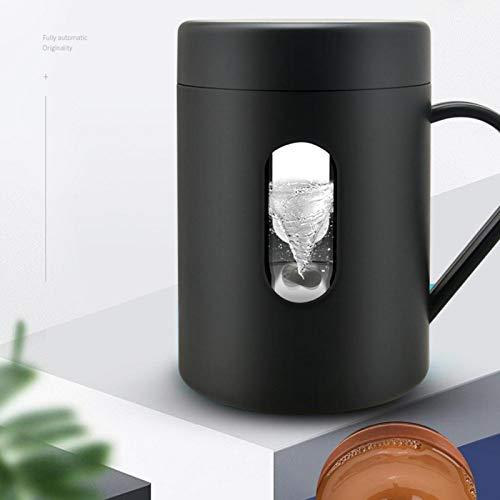 Taza de agitación automática Hermoso regalo de cumpleaños Mocha (negro)