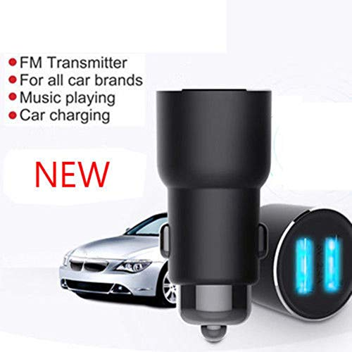YSHtanj Car Charger Autoradio & toebehoren oplader auto Bluetooth 4.2 FM zender MP3-speler Dual USB-oplader voor iOS Android
