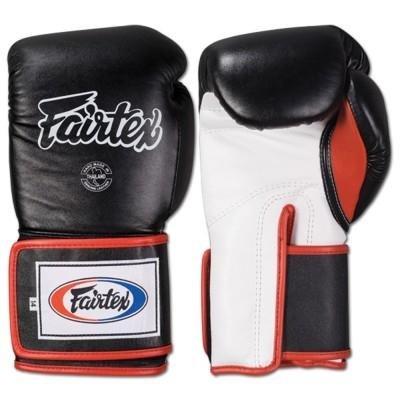 Fantastica! Fairtex-Sacco da boxe in pelle, chiusura con Velcro, Guanti da MMA, boxe, Thai Boxe, Kickboxing, da AuthenticAsia