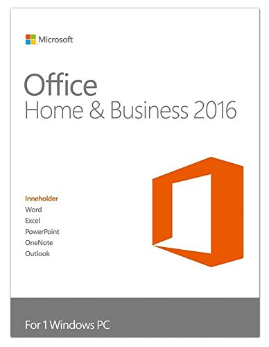 Microsoft Office Home & Business 2016 Full 1 licenza/e Multilingua