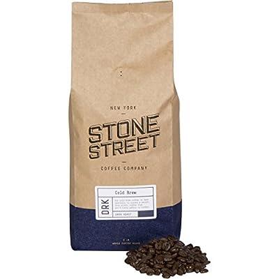 Stone Street Coffee Cold Brew Reserve Colombian Supremo Whole Bean Coffee, 2 LB Bag, Dark Roast
