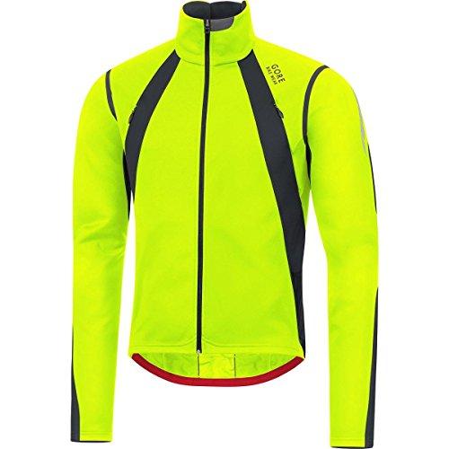 Gore Bike Wear Oxygen Windstopper - Giacca Uomo Ciclismo, Colore Giallo (Giallo Neon/Nero), Taglia S