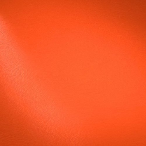 STOFFKONTOR Polster PVC Kunstleder, Polsterstoff Möbelstoff Meterware - Orange