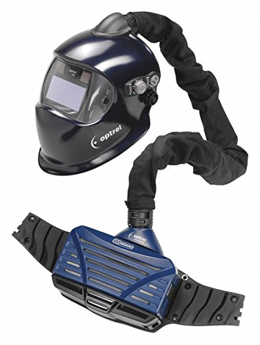 Optrel 4550.100 E3000 PAPR System with E680 Helmet, Dark Blue