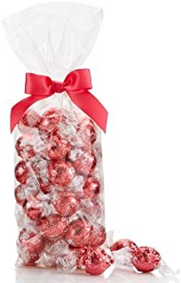 Strawberries and Cream White Chocolate LINDOR Truffles 36-pc Bag