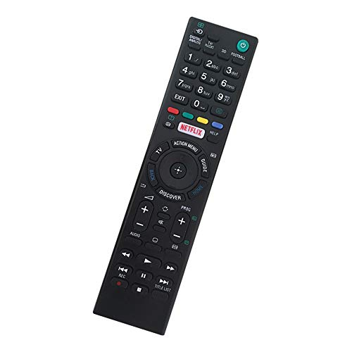 Remote Control for Sony TV Remote for All Sony LCD LED HDTV Smart Bravia TV Remote Control with Netflix Button - No Program Needed