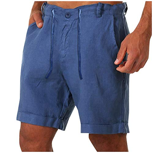 Winging Pantalones de Chándal Cortos Casuales de Verano Para Hombre Multicolor Color Sólido Pantalones de Fitness Sueltos de Playa Pantalones Cortos de Playa de Talla Grande de Verano