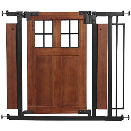 Evenflo Barn Door Walk-Thru Gate (Farmhouse Collection)