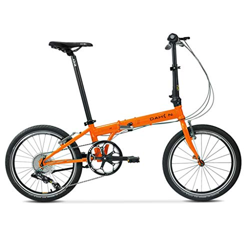 Check Out This Folding Bikes Bicycle Folding Bicycle Unisex 20 Inch Ultra Light Bicycle Portable Variable Speed Bicycle (Color : Orange, Size : 1503493cm)
