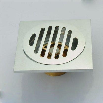 SDKKY tous les drains de plancher en acier inoxydable pour base des toilettes toilettes machine à laver égouts drains de plancher sur trois pass,e