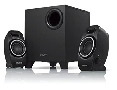 Creative A250 (2.1) Speaker System with Down-firing Ported Subwoofer from Creative