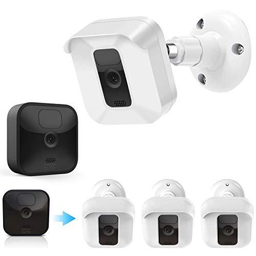 Blink Kamera-Wandhalterung, wetterfestes Schutzgehäuse/Halterung mit Blink-Sync-Modul, Steckdosenhalterung für Blink XT2/XT Innen- und Außenbereich, Sicherheitssystem (weiß, 3 Stück)