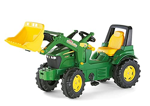 Rolly Toys Trac Lader - John Deere Tractor miniatura con pala frontal (710027)