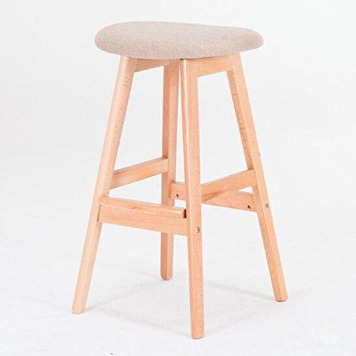 Tabouret en bois Chaises de bar en bois massif simples et élégantes/chaises de bar/haut chaise de bureau créatif de tabouret