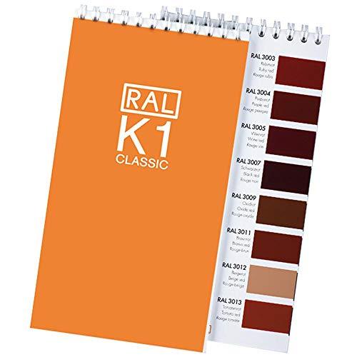 RAL K1 CLASSIC Blocco di colore a spirale a lucido