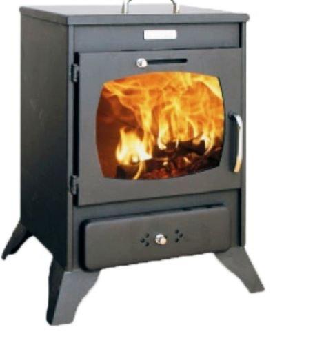 Estufa de leña Log quemador de combustible sólido pequeño