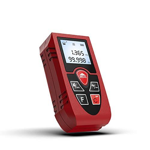 Laser Afstandsmeter 40m 60m 80m 100m Rangefinder Trena Laser Tape Range Finder Build Measure Device Ruler Test Tool