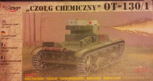 Mirage Hobby 72614 – Flamm Char OT de 130–1, Char