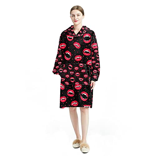 Sudadera con capucha para mujer, manga larga, suelta, para mujer, casual, suave, chándal de Halloween, caramelo, color negro, Multicolor 8, L/XXL
