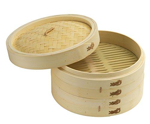 Joyce Chen Steamer, Bamboo, Tan Only $21.14 (Retail $40.99)