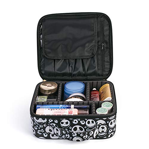 Makeup Travel Case MRSP Makeup Bag,Travel Makeup Organizers And Storage Cosmetic Travel Case Makeup Brushes Toiletry Travel Accessories The Nightmare Before Christmas