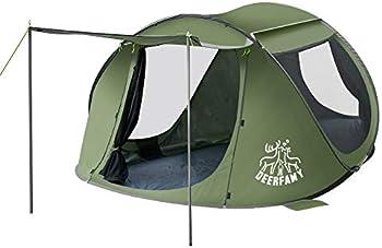 Deerfamy Pop Up Instant 4 Person Tent