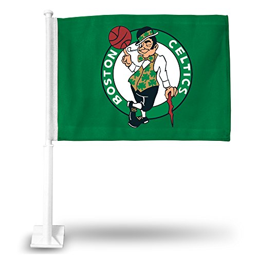 NBA Boston Celtics Car Flag with included Pole