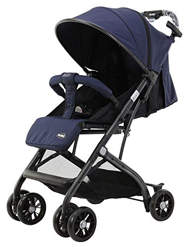 Passeggino Leggero Pieghevole per Bambini in Alluminio Nunù Bugsy Blu