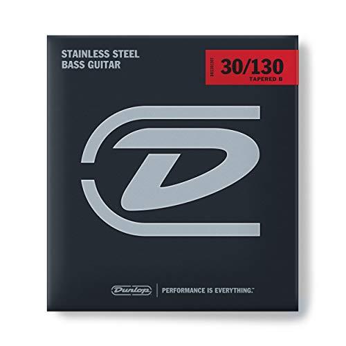 Dunlop DL STR DBS 030/130T Stainless Steel 6-String Medium 030-130 Taper Wound