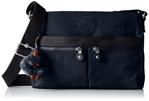 Kipling Women's Angie True Blue Tonal Crossbody Bag, t