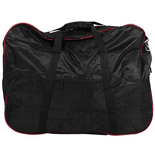 DAUERHAFT Bolsa de Carga para Bicicletas Bolsa de Bicicleta Universal 420D, Bicicletas Plegables, para Proteger su Bicicleta