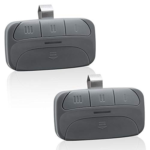 Replacement for Genie G3T-R G1T-BX GITR-3 GIT-1 GIT-2 GIT-3 - Overhead Door O1T-BX O3T-BX OCDTR-3 Remote - Compatible with Intellicode & CodeDodger Garage Door Openers - 2 Pack
