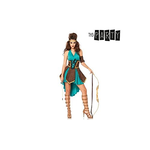 Disfraz para Adultos Th3 Party Guerrera celta sexy: Amazon.es ...